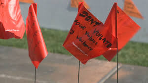 The Red Flag Campaign 12news Com Asu Raising The Red Flag Against Dating Violence