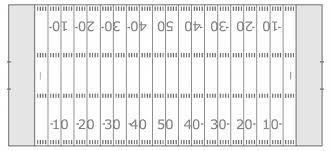 football field template for powerpoint football field sports