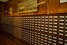 our card catalog carries on new york society library