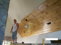 ceiling planks over popcorn photos modern ceiling design how