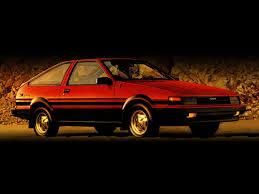 toyota corolla sr5 sport liftback ae86 1984 1986 toyota corolla