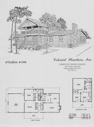 floor plans colonial structures log homes