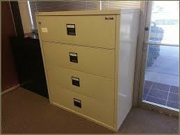 Used 4 Drawer Lateral File Cabinet by Furnitures Interesting Fireproof File Cabinet For Office Or Home