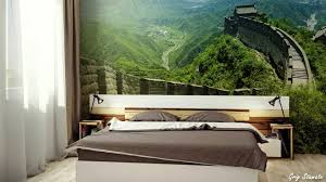 nature inspired wall murals make your home look bigger youtube