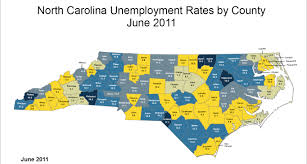 Map Of North Carolina Counties Unemployment Increases For Nearly All Wnc Counties In June