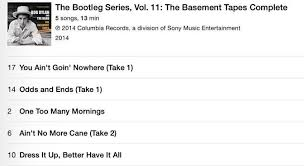 Bob Dylan Basement Tapes Vinyl by Bob Dylan Basement Tapes Complete 49 99 U2013 Njn Network