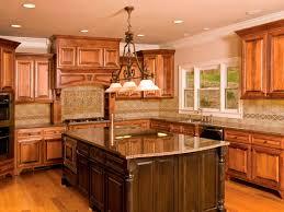 interior tuscany kitchen design with stunning granite countertop