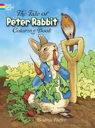 the rabbit book the tale of rabbit coloring book dover classic stories