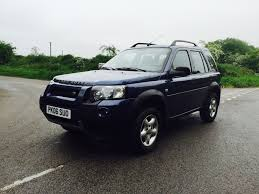 lhd land rover freelander td4 2006 only 83k miles left hand drive