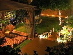 garden party lights light sail design