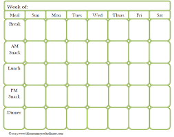 printable blank meal planner blank meal plan template nwmxopu4 meals pinterest cook dinner
