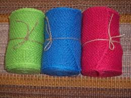 colored burlap ribbon 6 inch burlap ribbon wholesale colored jute burlap ribbon 1