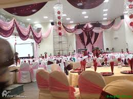 event decorations cake and general catering advertise ng