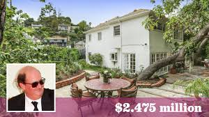 Los Feliz Real Estate by Office U0027 Star Brian Baumgartner Parts Ways With 1940s Home In Los