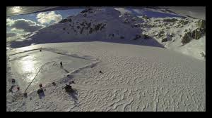 anythingforhockey mountain top rink construction youtube