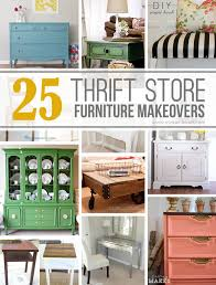 25 amazing thrift store furniture makeovers 25 amazing thrift store furniture makeovers via make it and love it