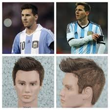 soccer haircut steps leo messi 2014 world cup haircut tutorial youtube