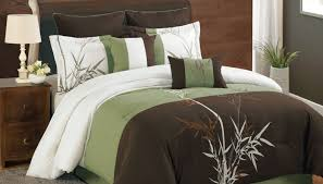 Green Comforter Sets Bedding Set Marvelous Brown Sheets Bed Bath And Beyond Infatuate