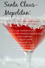 blue ribbon kitchen santa claus mopolitan a signature holiday drink