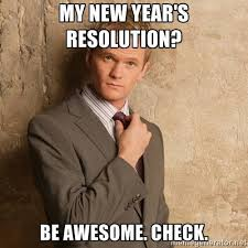 Funny New Year Meme - funny new year resolutions meme pictures the happy health freak