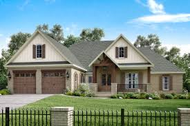 photo realistic rendering of traditional home plan