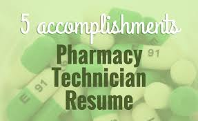 Pharmacy Technician Resume Example 5 Accomplishments To Make Your Pharmacy Tech Resume Stand Out