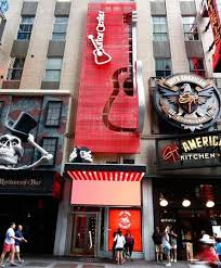 times square new york city guitar center store