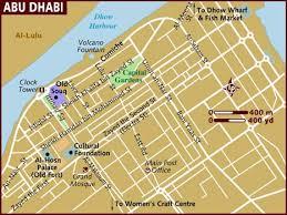 map of abu dabi map of abu dhabi