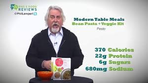Modern Table Meals by Modern Table Meals Bean Pasta Veggie Kit Pesto Is A Hit Youtube