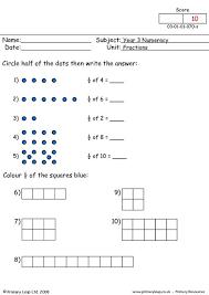 primaryleap co uk fractions 2 worksheet