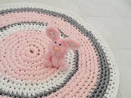 super design ideas nursery rugs creative pink blue round baby