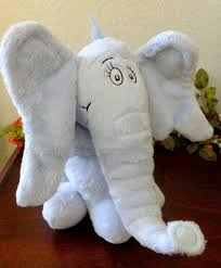 horton hears a who elephant dr seuss stuffed plush animal kohls