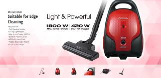 Panasonic Vaccum Cleaners Panasonic Vacuum Cleaner 1800w Big Front Handle Diamond Cut Design