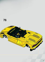 lego lamborghini gallardo instructions 8169 racers