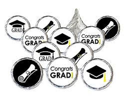 graduation cap stickers congrats grad cap stickers for graduation party favors