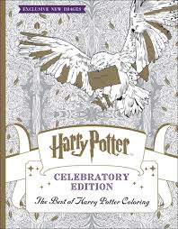 the best of harry potter coloring celebratory edition harry