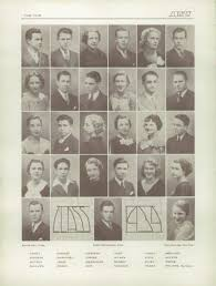 explore 1934 clayton high school yearbook clayton mo classmates