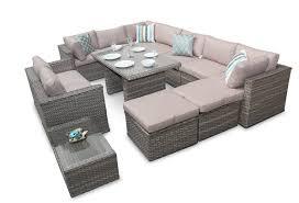 rattan corner sofa corner sofa garden furniture manchester 7pc daybed set