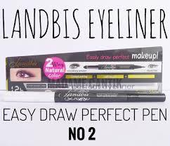 Eyeliner Spidol Murah landbis eyeliner easy draw pen no 2 landbis eyeliner