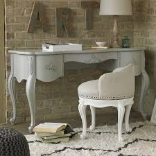 belle vanity desk in french grey and luxury kid furnishings