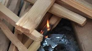 Starting A Fire Pit - man starting fire in a fire pit stock video footage videoblocks