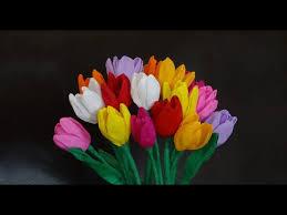 cara membuat bunga dari kertas pita jepang cara membuat bunga dari kertas krep yang mudah