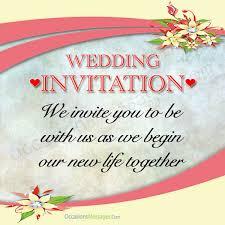 wedding invitation messages best wedding invitation messages occasions messages