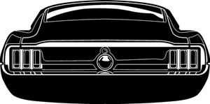 mustang logo ford mustang logo vector cdr free