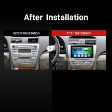 2011 toyota camry navigation system 2007 2011 toyota camry unit installation car dvd player