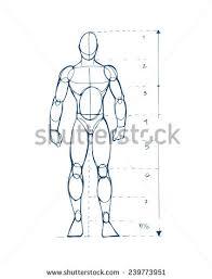 human figure men d stock vector 239773951 shutterstock
