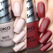 the polish list kiko matte for you nail polish duo