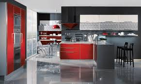 bright red color accents 15 bold and bautiful home decorating ideas