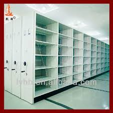 Library File Cabinet Mechanical Library File Cabinet System Mobile Compactor Mounted On