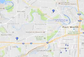Ft Worth Map Rent Historic Fort Worth